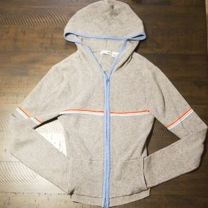 Gray Zip-up Hoodie (Vintage 80's or 90's)